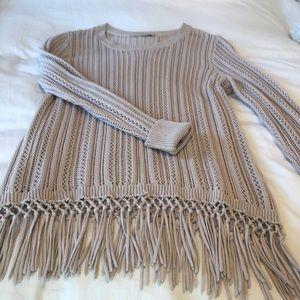 Soft Surroundings knit sweater small